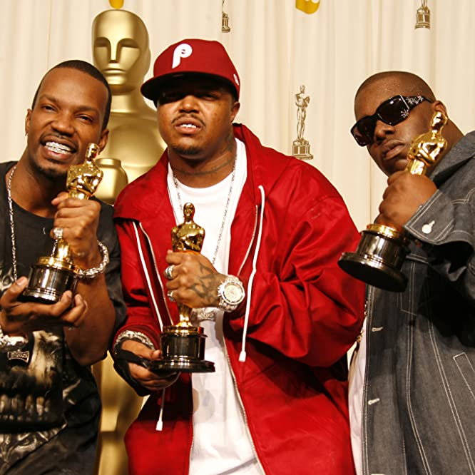 Paul Beauregard, Jordan Houston, Three 6 Mafia, and Cedric Coleman at an event for The 78th Annual Academy Awards (2006)