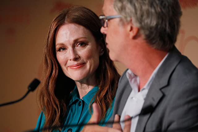 Julianne Moore and Todd Haynes