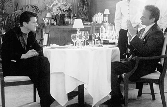 Michael Douglas and Sean Penn in The Game (1997)