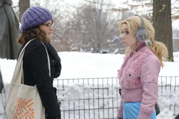 Tina Fey and Cristin Milioti in 30 Rock (2006)