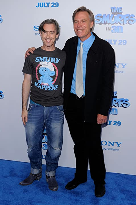 Alan Cumming and Raja Gosnell at The Smurfs (2011)
