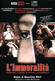 L'immoralità Poster