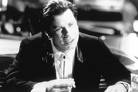 John Travolta in Pulp Fiction (1994)