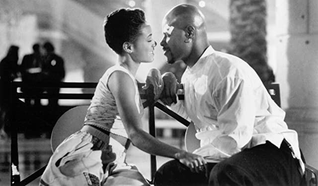 Jada Pinkett Smith and Keenen Ivory Wayans in A Low Down Dirty Shame (1994)
