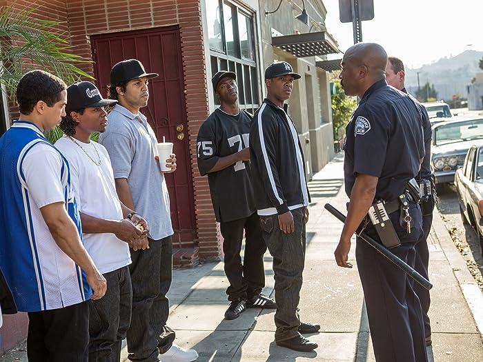 Neil Brown Jr., Aldis Hodge, Corey Hawkins, Jason Mitchell, and O'Shea Jackson Jr. in Straight Outta Compton (2015)