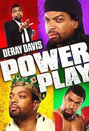 DeRay Davis: Power Play Poster