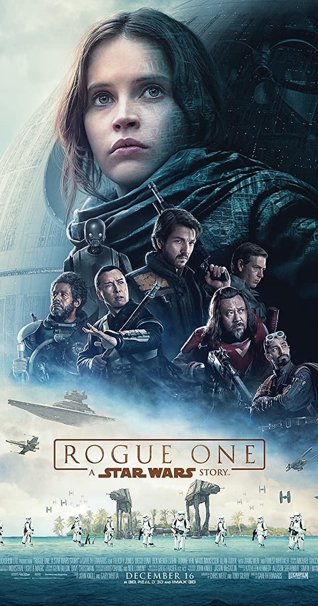 Rogue One 2016 Movie poster