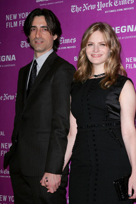 Jennifer Jason Leigh and Noah Baumbach at Margot at the Wedding (2007)