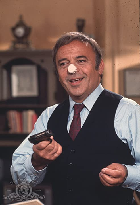 Herbert Lom in The Return of the Pink Panther (1975)