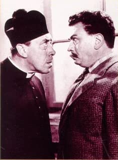Gino Cervi and Fernandel in The Little World of Don Camillo (1952)