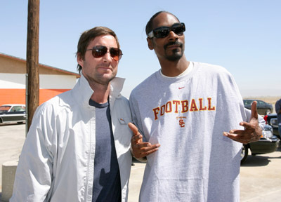 Snoop Dogg and Luke Wilson