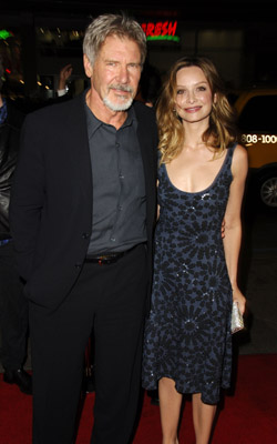 Harrison Ford and Calista Flockhart at Firewall (2006)