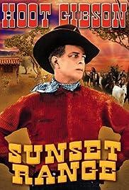 Sunset Range Poster