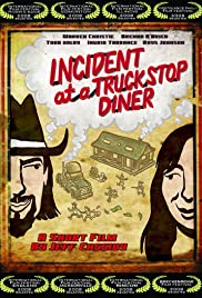Incident at a Truckstop Diner Poster