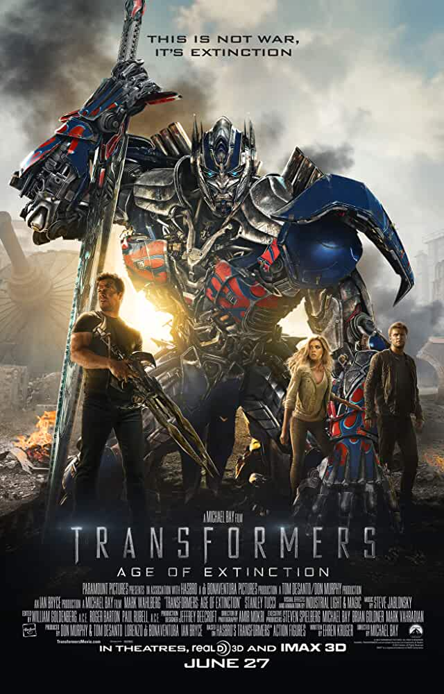 Transformers 4 Age of Extinction 2014 720p BRRip Dual Audio watch online free download