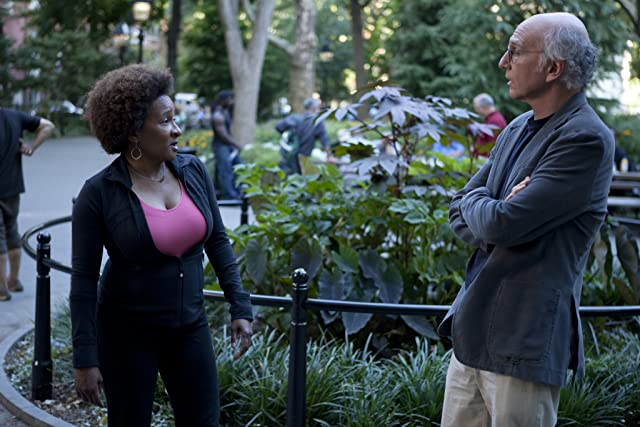 Larry David and Wanda Sykes in Curb Your Enthusiasm (2000)