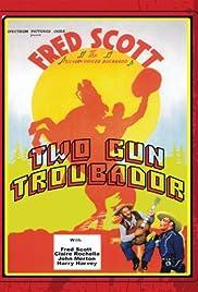 Two Gun Troubador Poster