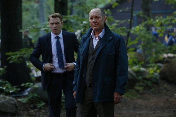 James Spader and Diego Klattenhoff in The Blacklist (2013)