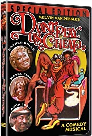 Don't Play Us Cheap (1973) Poster - Movie Forum, Cast, Reviews