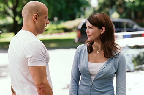 Vin Diesel (left), Lauren Graham (right).