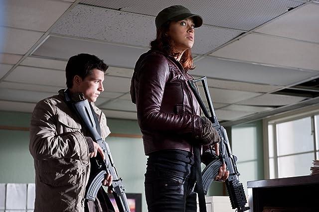 Josh Hutcherson and Adrianne Palicki in Red Dawn (2012)