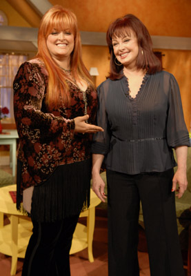 Naomi Judd and Wynonna Judd at Naomi's New Morning (2005)