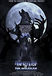 Frankenstein vs. the Wolfman in 3-D Poster