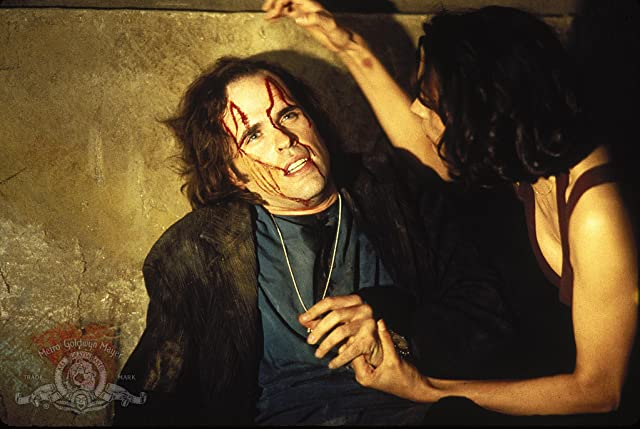 Famke Janssen and Kevin J. O'Connor in Lord of Illusions (1995)