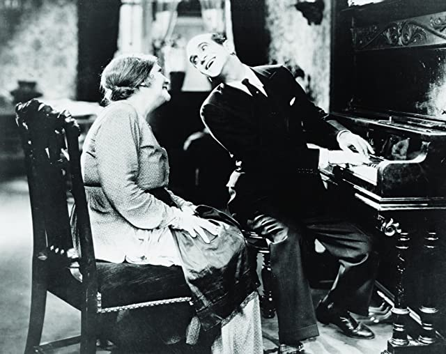 Eugenie Besserer and Al Jolson in The Jazz Singer (1927)