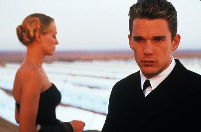Ethan Hawke and Uma Thurman in Gattaca (1997)