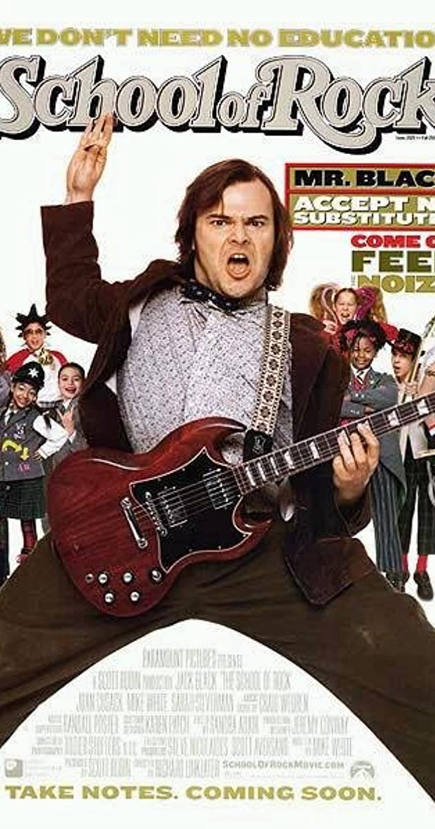 Roko mokykla / School of Rock (2003) Online