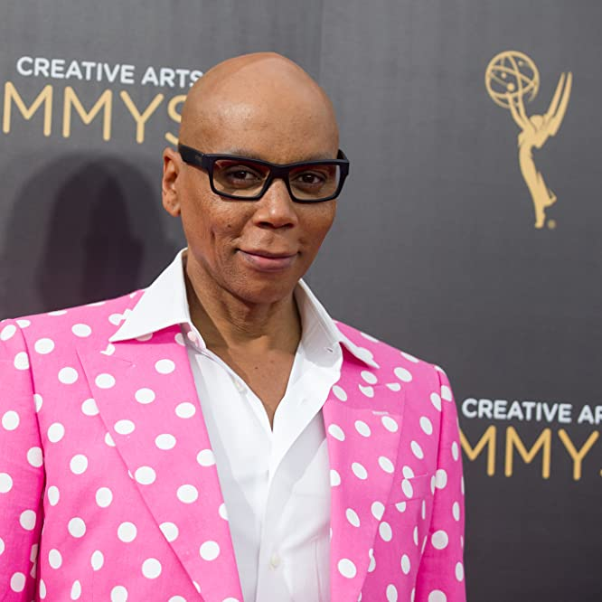 RuPaul at an event for 2016 Primetime Creative Arts Emmy Awards (2016)