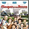 Myrna Loy, Jeanne Crain, Betty Barker, Barbara Bates, Patti Brady, Teddy Driver, Jimmy Hunt, Betty Lynn, Roddy McCaskill, Carol Nugent, Norman Ollestad, and Clifton Webb in Cheaper by the Dozen (1950)