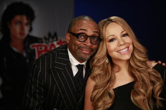 Spike Lee and Mariah Carey in Bad 25 (2012)