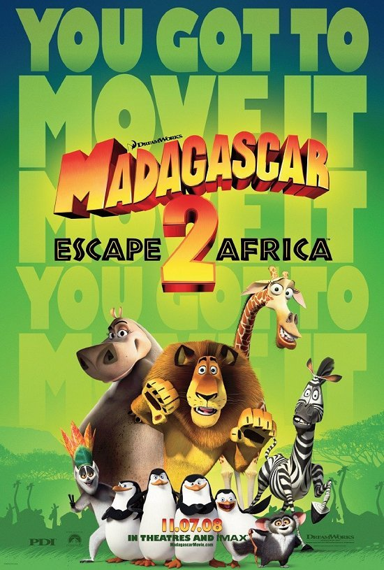 Madagascar: Escape 2 Africa (2008) Cover