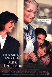 Poster Mrs. Doubtfire - Das stachelige Kindermädchen