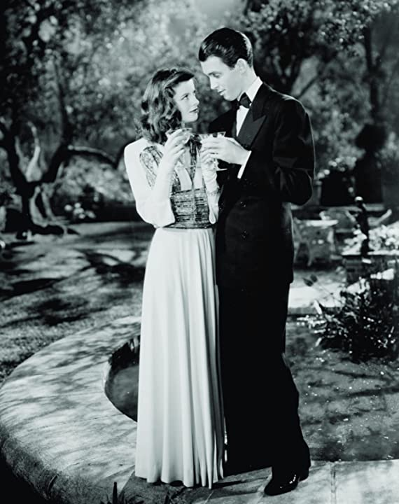 Katharine Hepburn and James Stewart in The Philadelphia Story (1940)