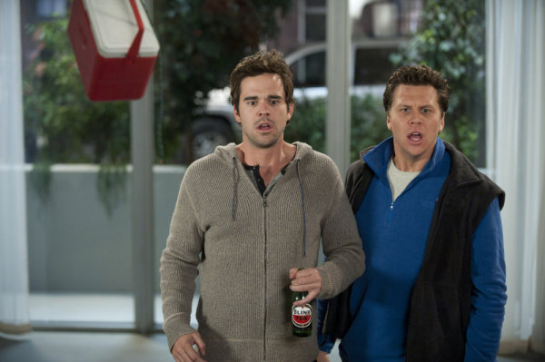 David Walton and Hayes MacArthur in Perfect Couples (2010)