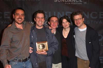 Molly Bradford, Eric Gilliland, Christopher Dillon Quinn, and Geoffrey Richman