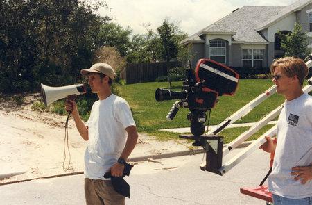 Bobby Gibis and Michael Sellers in Kid Avenger (2003)