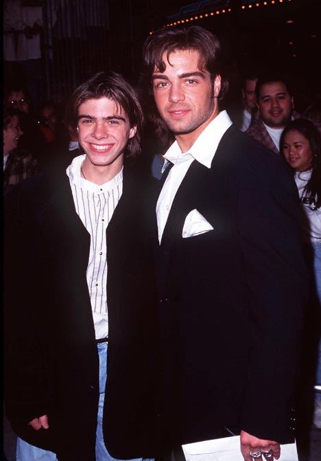 Joey Lawrence and Matthew Lawrence at Broken Arrow (1996)