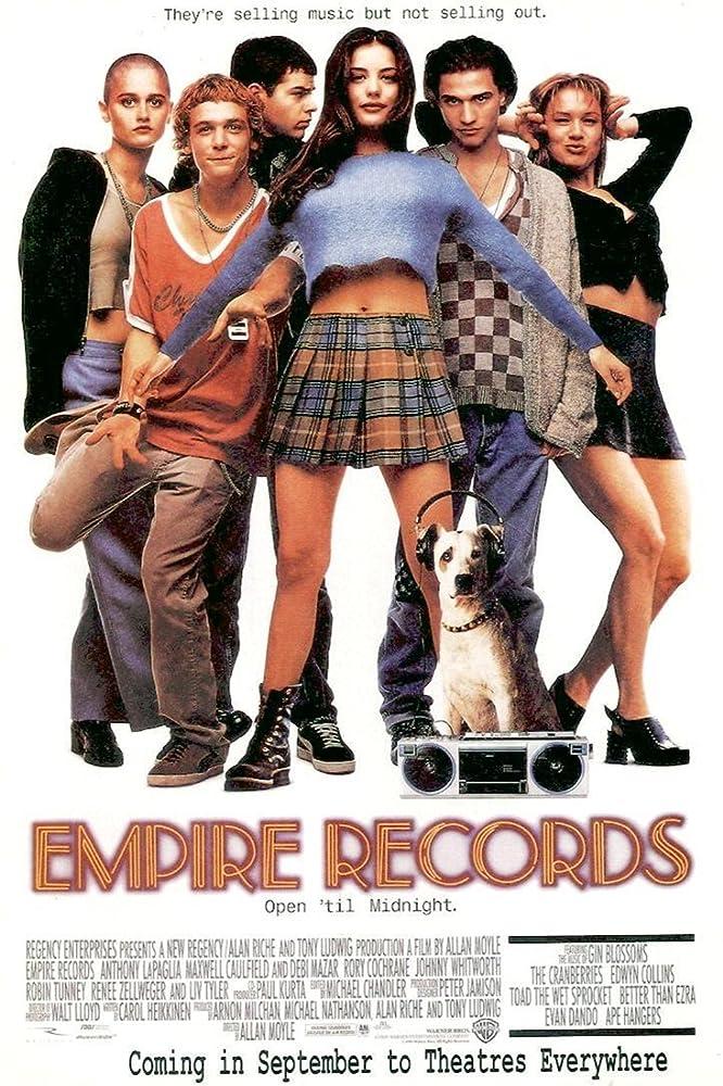 Empire Records (1995)  MV5BMjExMmQ1NmItOWEyOC00NzZjLWE0NWItNmE1NmNkY2NmODk5XkEyXkFqcGdeQXVyNDk3NzU2MTQ@._V1_SY1000_CR0,0,666,1000_AL_