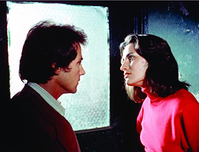 Harvey Keitel and Amy Robinson in Mean Streets (1973)