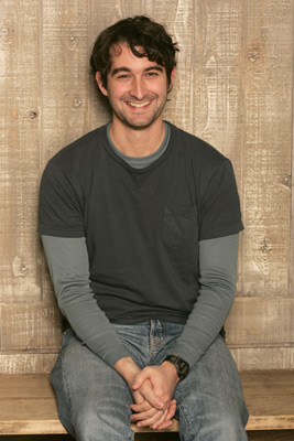 Jay Duplass at an event for The Puffy Chair (2005)