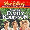 Kevin Corcoran, Tommy Kirk, James MacArthur, Dorothy McGuire, and John Mills in Swiss Family Robinson (1960)