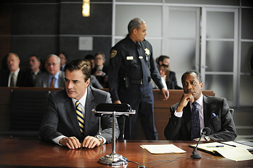 Joe Morton and Chris Noth in The Good Wife (2009)