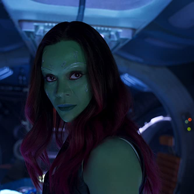 Zoe Saldana in Guardians of the Galaxy Vol. 2 (2017)