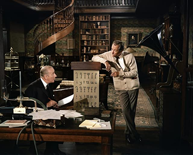 Rex Harrison and Wilfrid Hyde-White in My Fair Lady (1964)