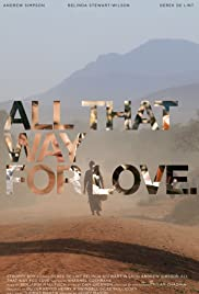 All That Way for Love Poster