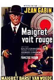 Maigret voit rouge Poster